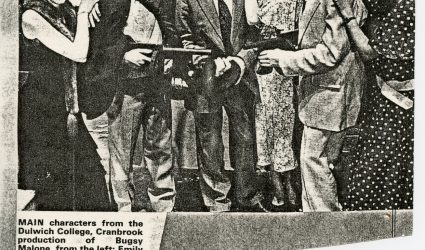 Bugsy Malone - Newspaper Cutting