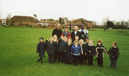 Helicopter Visit for Reception Class